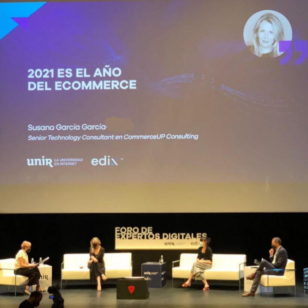 Susana Garcia UNIR EDIX Foro Expertos Digitales Ponente